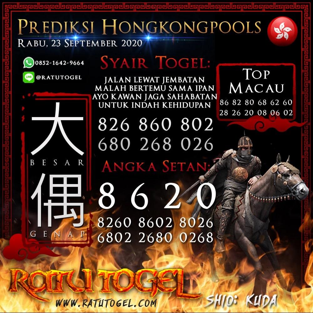 Prediksi HK Rabu 23 September 2020 | Bocoran hongkongpools 90% Akurat